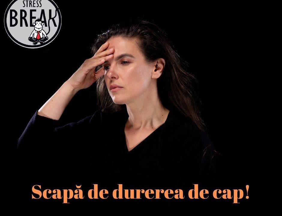 Scapa de durerea de cap, cu Simona Nicolaescu