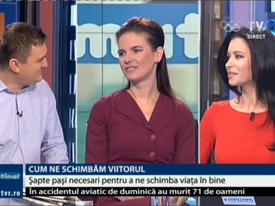 Despre relaxare, interviu cu Simona Nicolaescu la TVR1