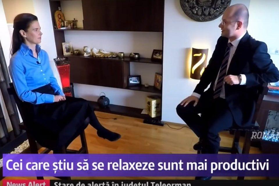 Romania, fast-forward, interviu cu Simona Nicolaescu