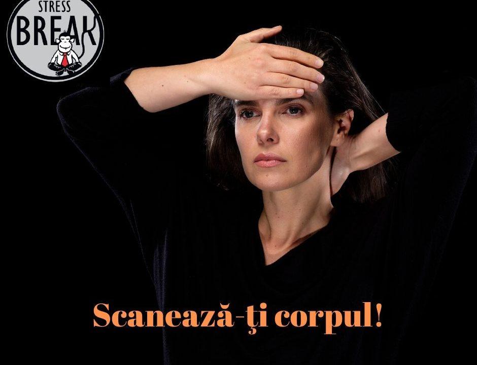Scanarea mentala a corpului, cu Simona Nicolaescu