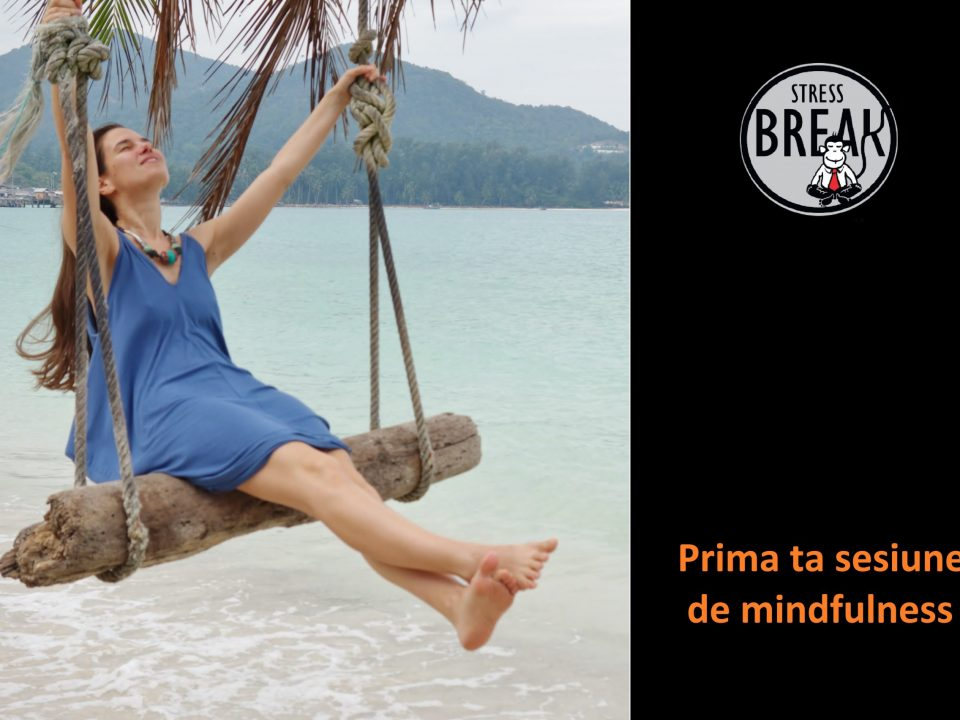 Stress-Break, prima ta sesiune de mindfulness