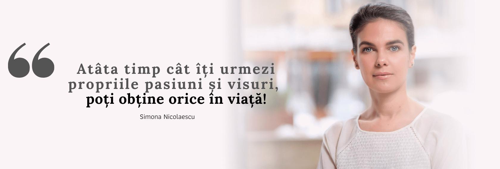 Quote Simona Nicolaescu
