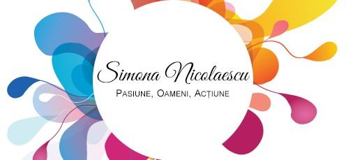 Logo Blog Simona Nicolaescu